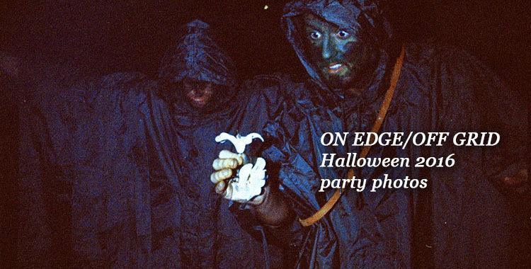 ON EDGE/OFF GRID - Halloween Party @ Barrel House Ballroom - Sat 29th October 2016