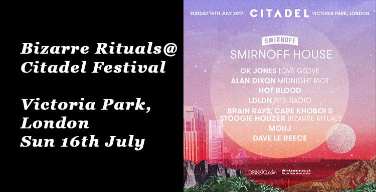 Bizarre Rituals @ Citadel Festival, Victoria Park, London – Sunday